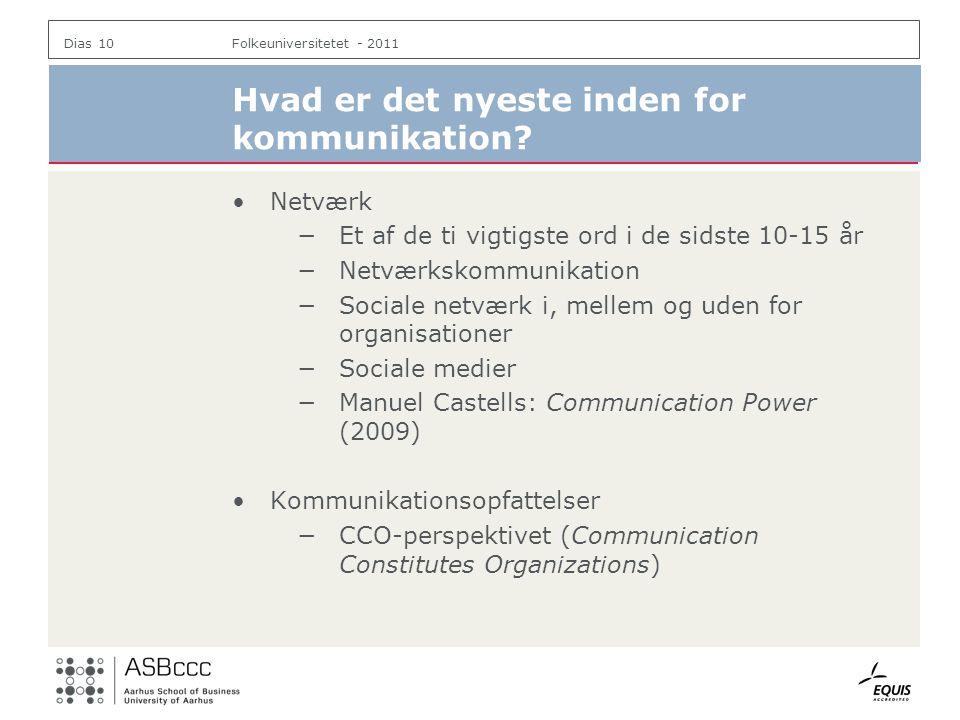 Hvad er det nyeste inden for kommunikation