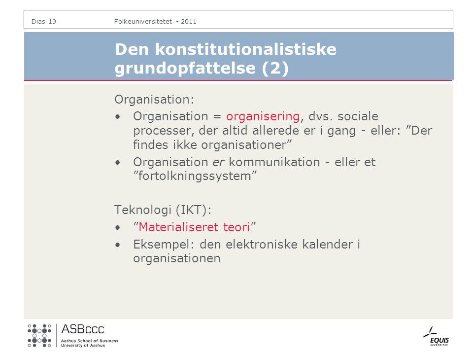 Den konstitutionalistiske grundopfattelse (2)