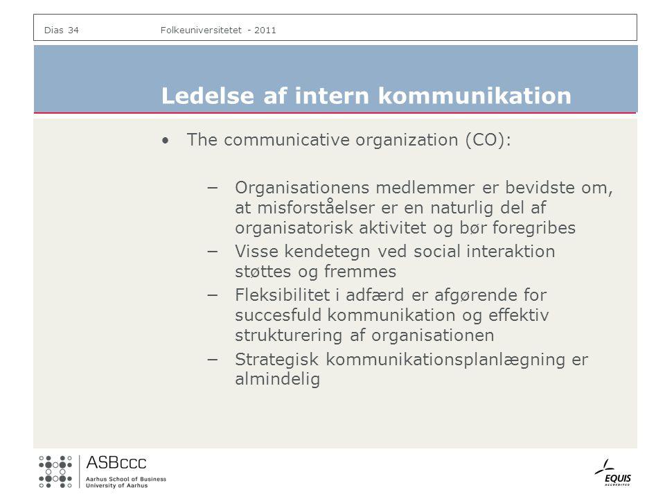 Ledelse af intern kommunikation
