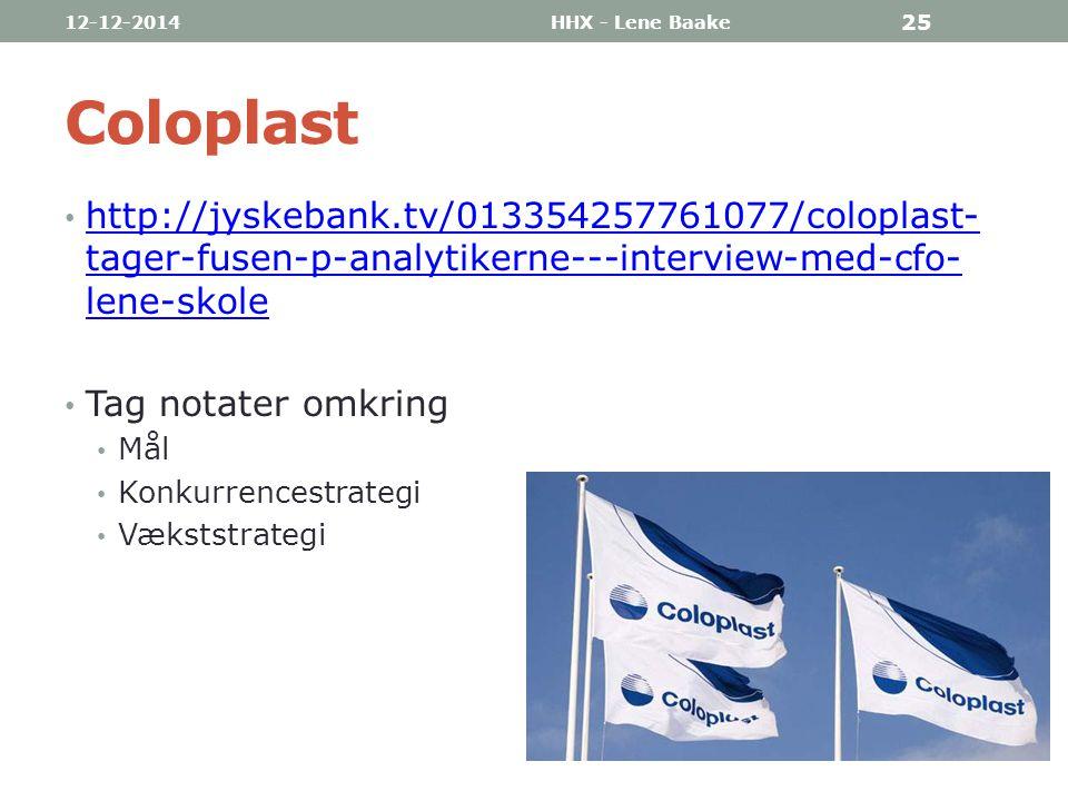 07-04-2017 HHX - Lene Baake. Coloplast. http://jyskebank.tv/013354257761077/coloplast-tager-fusen-p-analytikerne---interview-med-cfo-lene-skole.