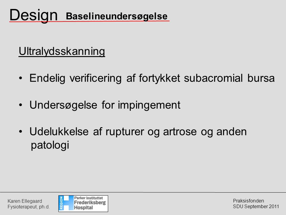 Design Ultralydsskanning