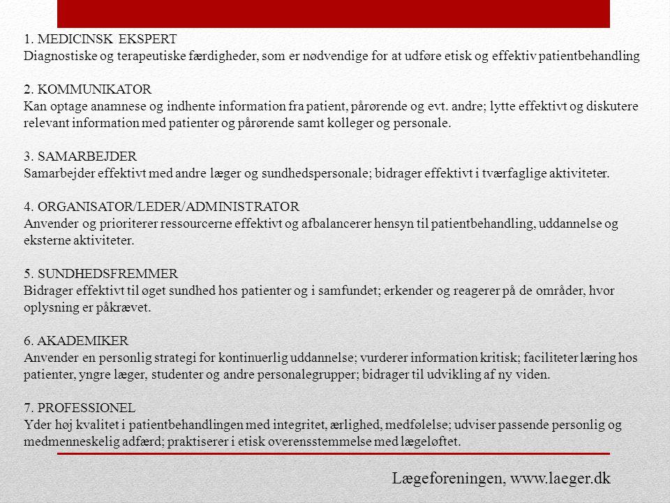 Lægeforeningen, www.laeger.dk