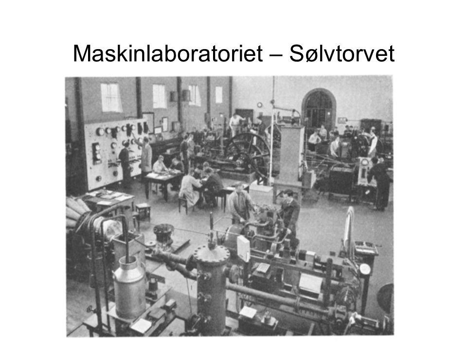 Maskinlaboratoriet – Sølvtorvet
