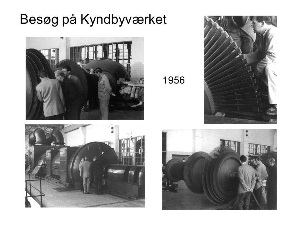 Besøg på Kyndbyværket 1956