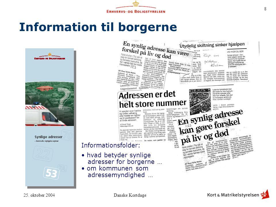 Information til borgerne