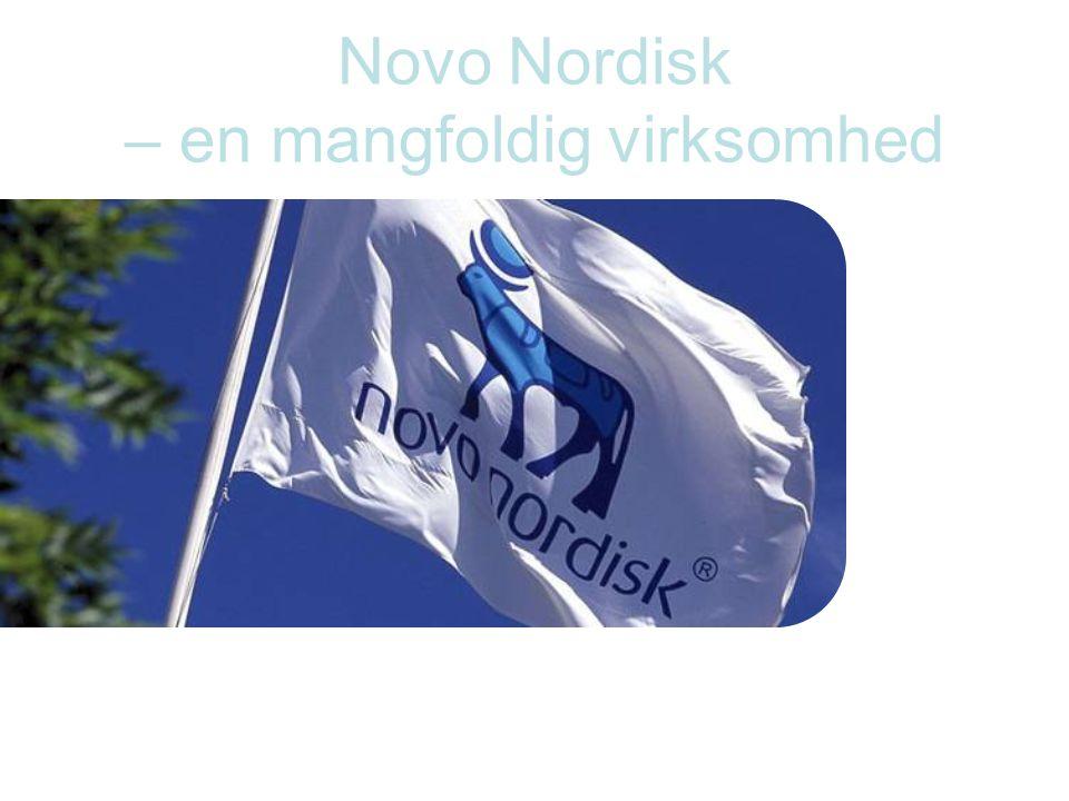 Novo Nordisk – en mangfoldig virksomhed