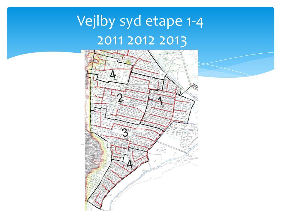 Vejlby syd etape 1-4 2011 2012 2013