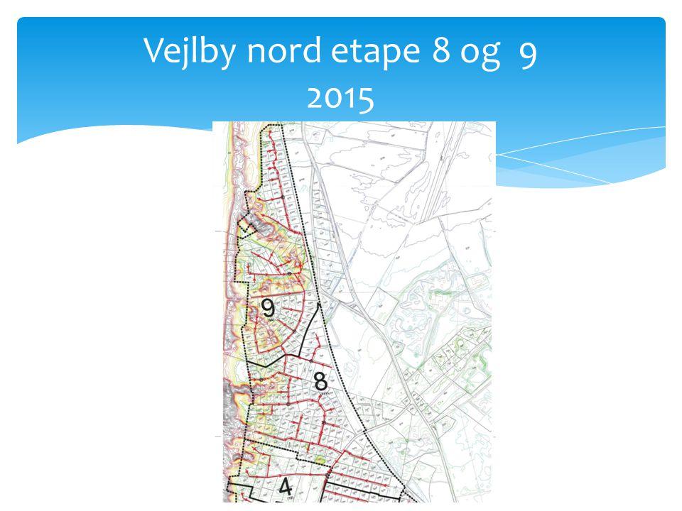 Vejlby nord etape 8 og 9 2015
