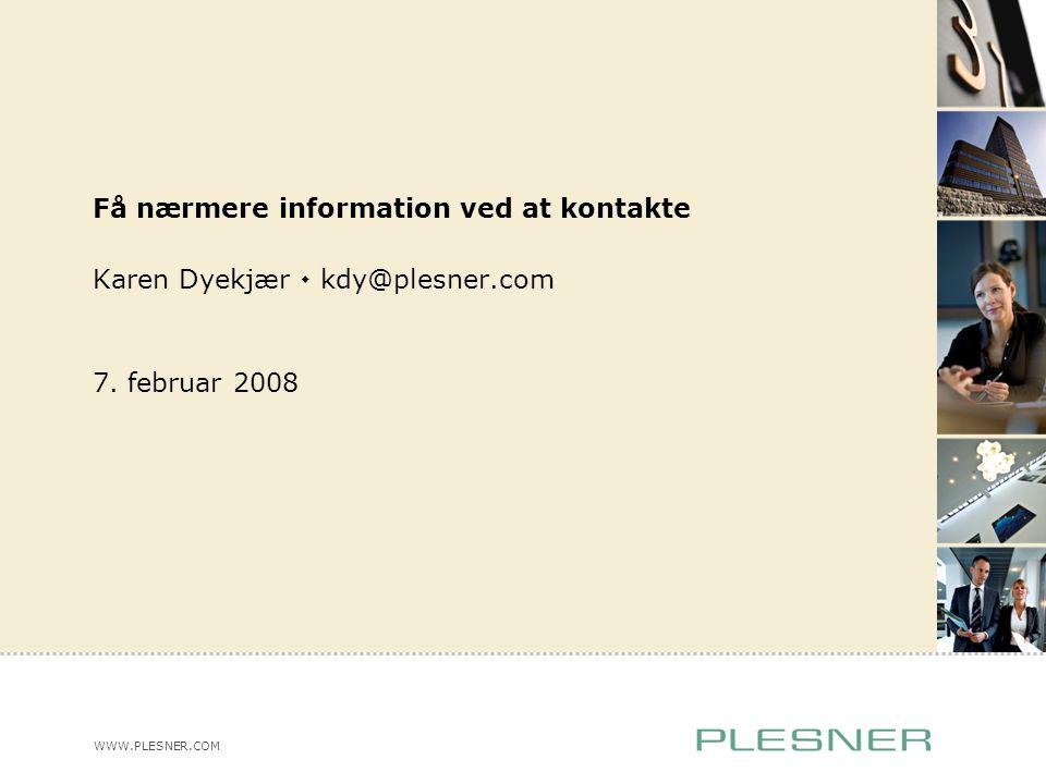 Karen Dyekjær  kdy@plesner.com