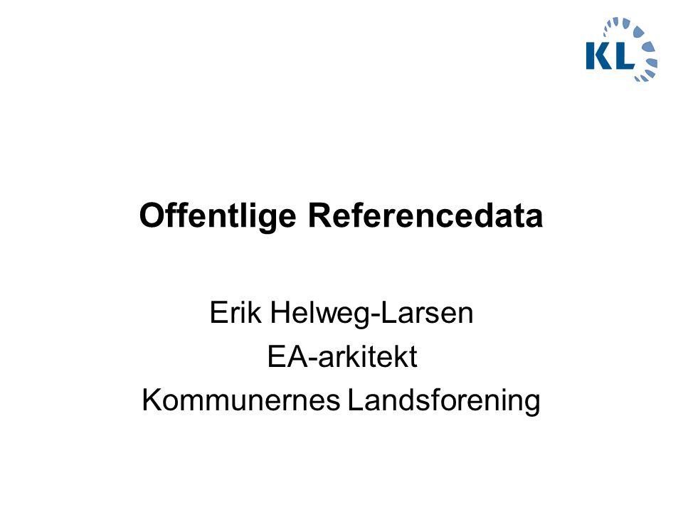 Offentlige Referencedata