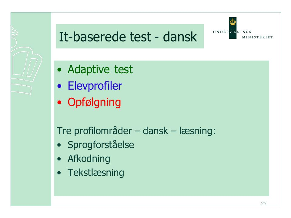 It-baserede test - dansk