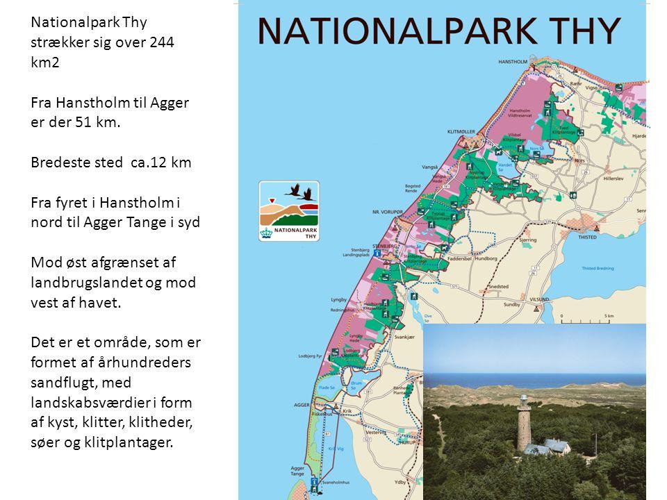 Nationalpark Thy strækker sig over 244 km2