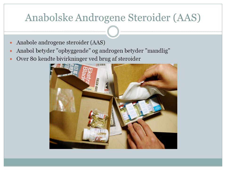 Anabolske Androgene Steroider (AAS)