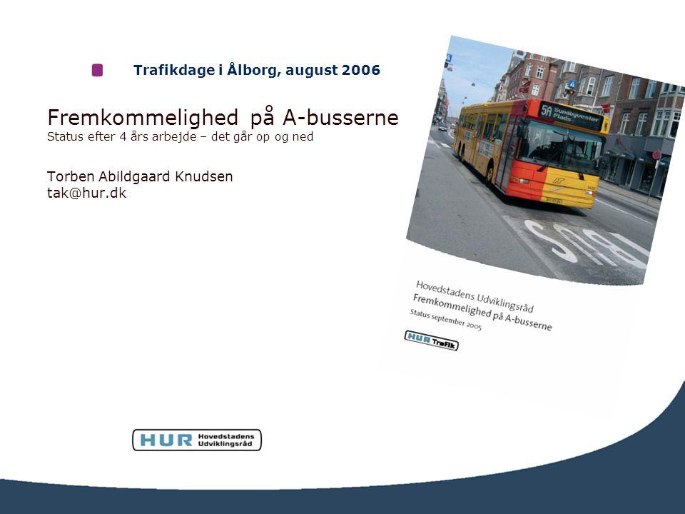 Trafikdage i Ålborg, august 2006