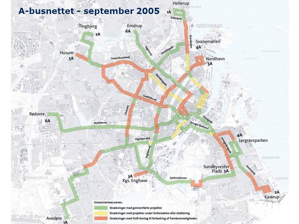 A-busnettet - september 2005
