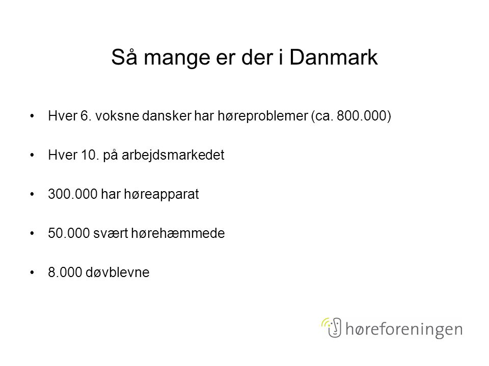 Så mange er der i Danmark