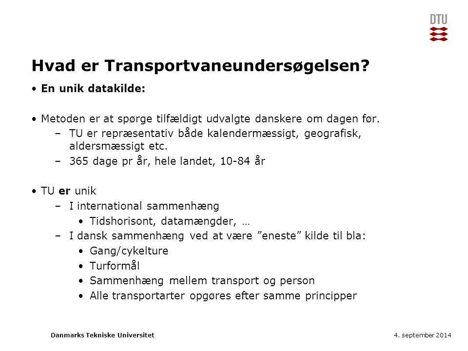 Hvad er Transportvaneundersøgelsen