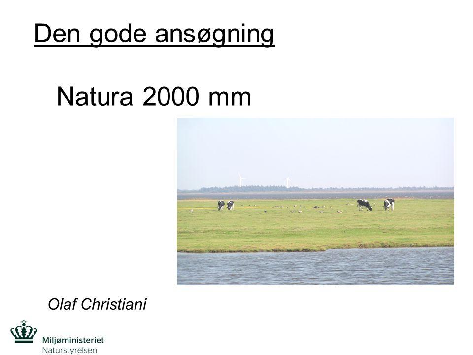 Den gode ansøgning Natura 2000 mm
