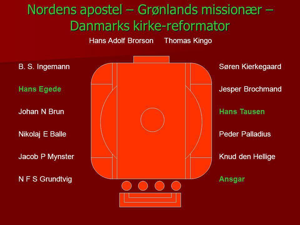 Nordens apostel – Grønlands missionær – Danmarks kirke-reformator