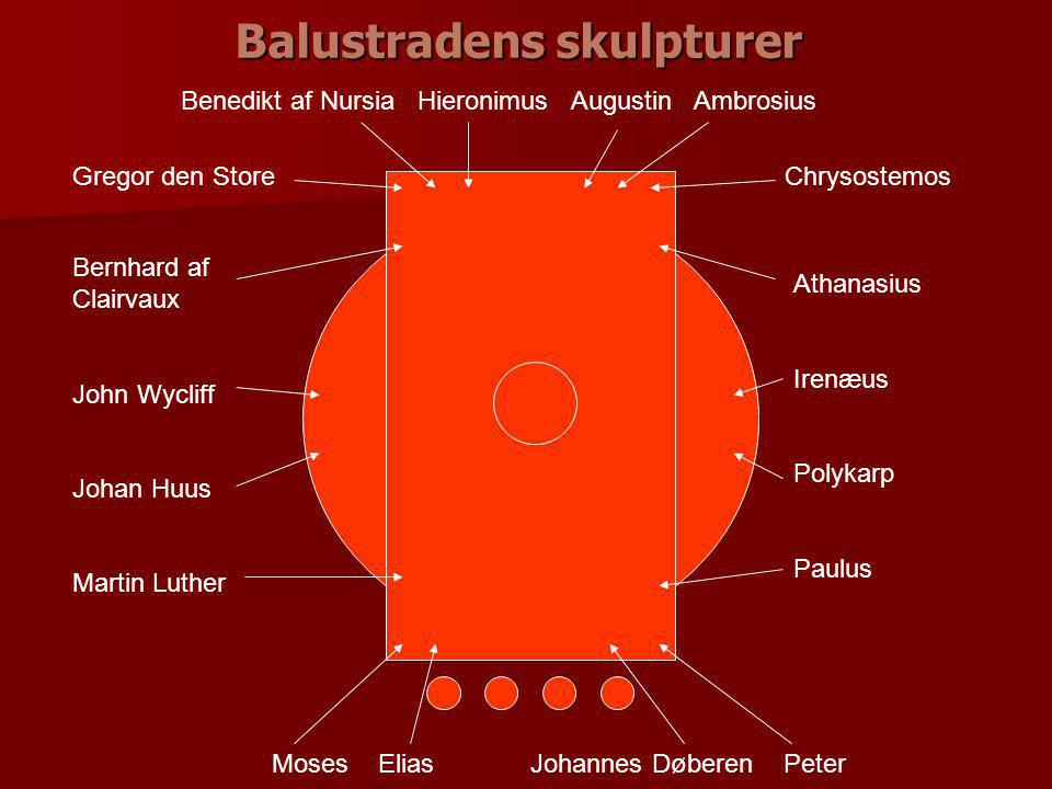 Balustradens skulpturer
