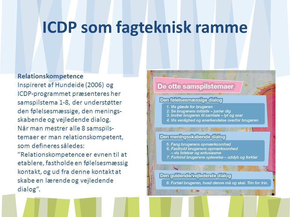 ICDP som fagteknisk ramme