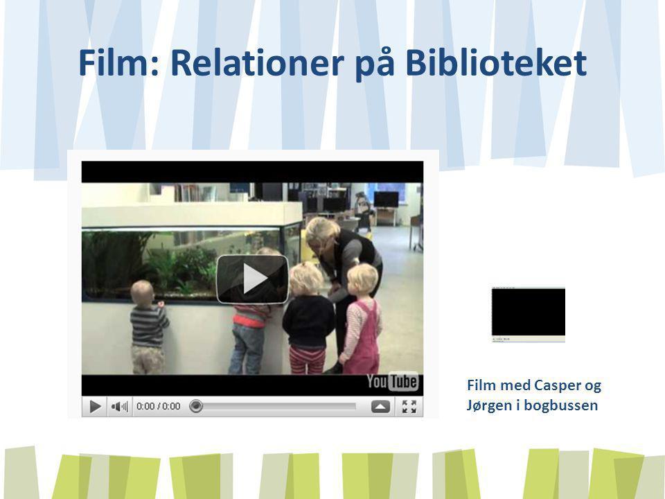 Film: Relationer på Biblioteket