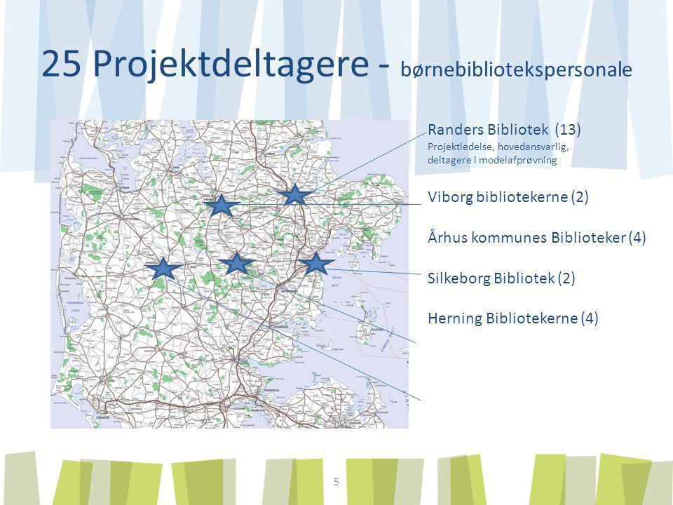 25 Projektdeltagere - børnebibliotekspersonale