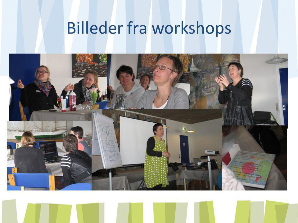 Billeder fra workshops