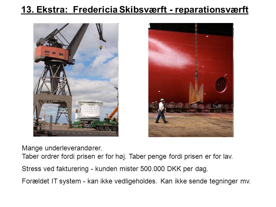 13. Ekstra: Fredericia Skibsværft - reparationsværft