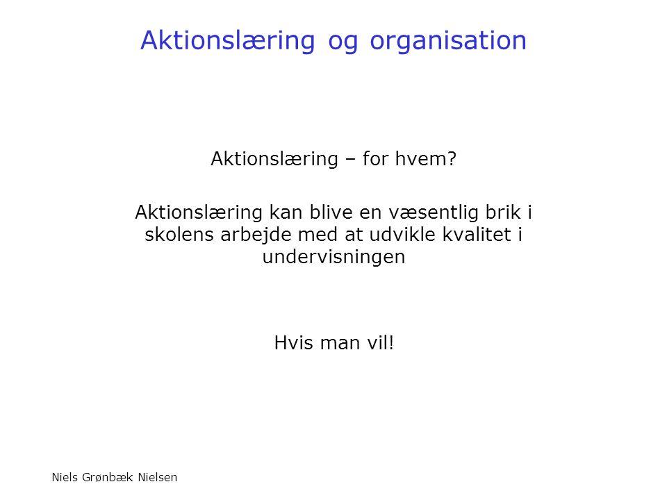 Aktionslæring og organisation