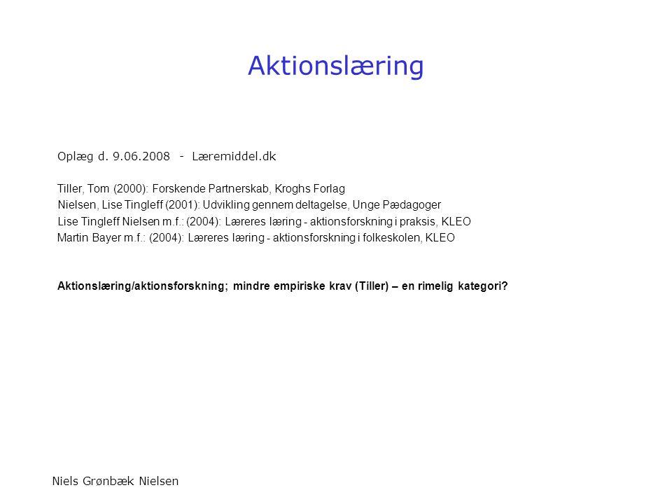 Aktionslæring Oplæg d. 9.06.2008 - Læremiddel.dk