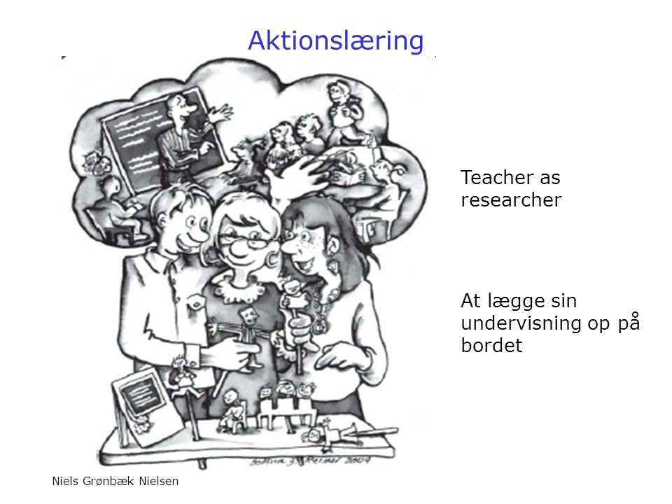 Aktionslæring Teacher as researcher