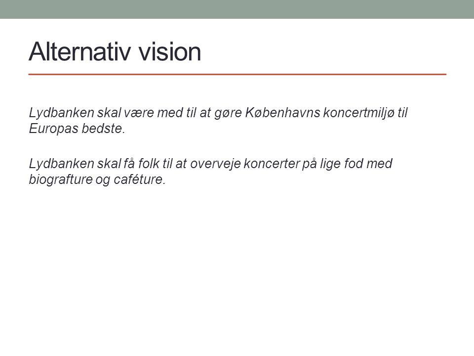 Alternativ vision