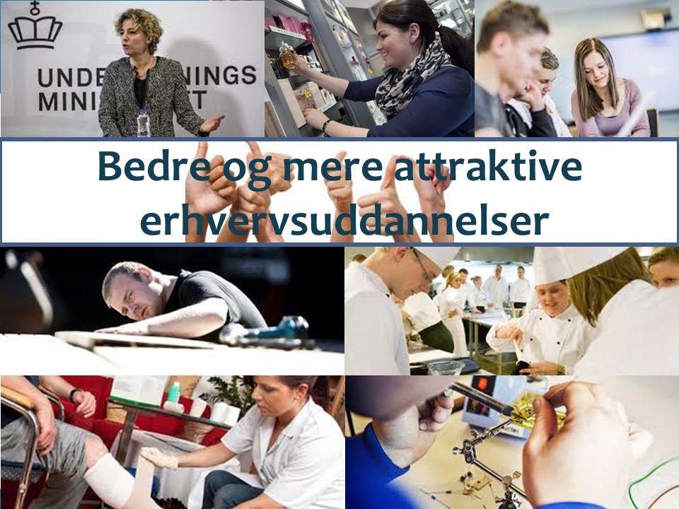 Bedre og mere attraktive erhvervsuddannelser