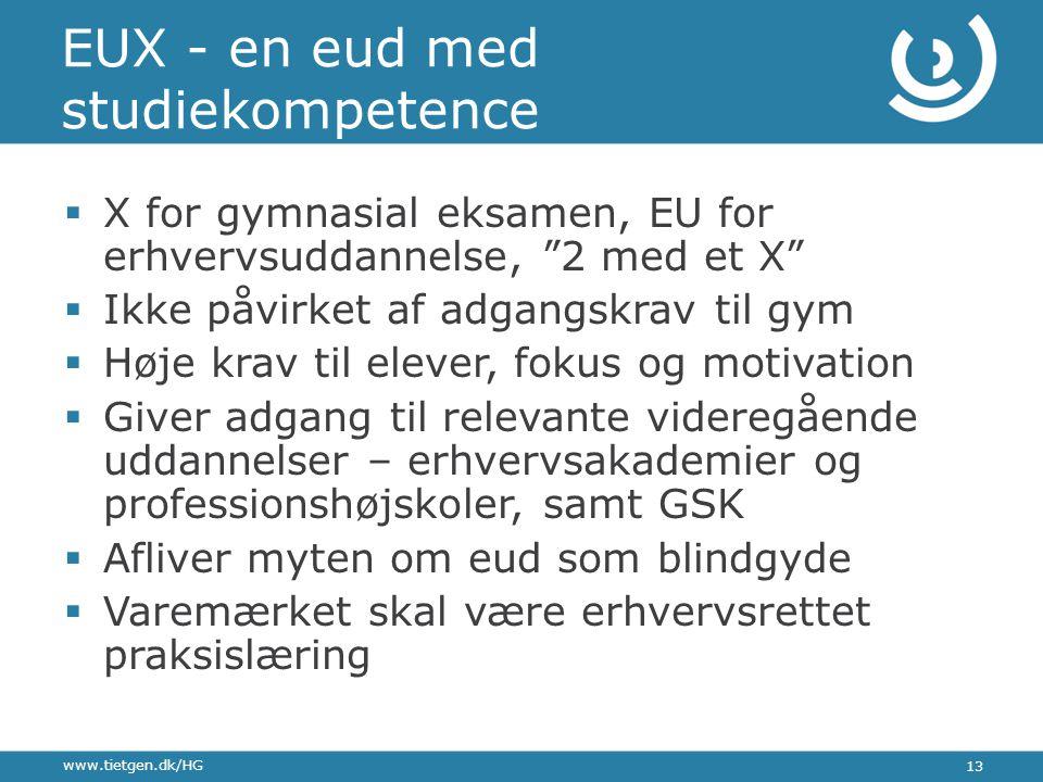 EUX - en eud med studiekompetence