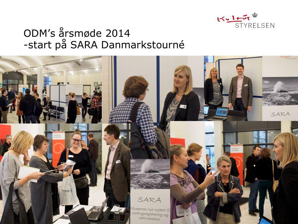 ODM's årsmøde 2014 -start på SARA Danmarkstourné