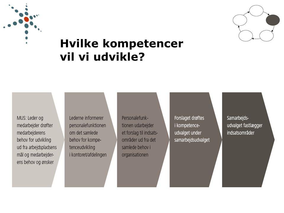 Hvilke kompetencer vil vi udvikle