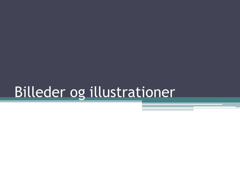 Billeder og illustrationer