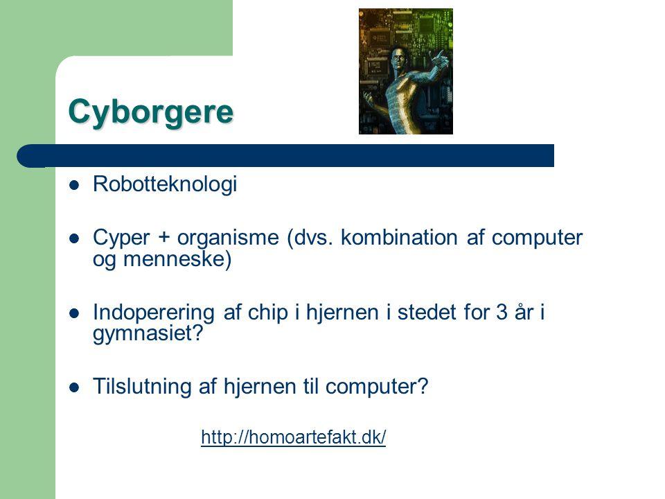 Cyborgere Robotteknologi