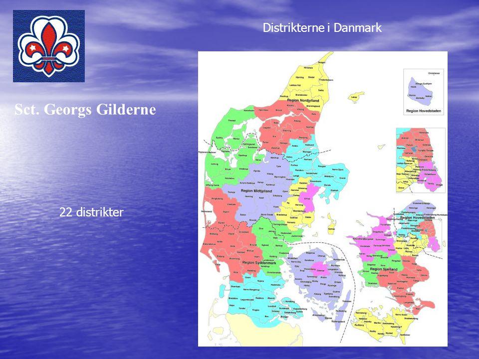 Distrikterne i Danmark