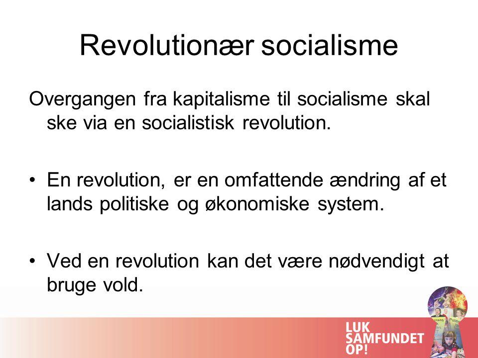 Revolutionær socialisme