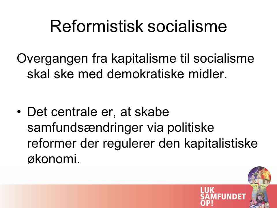 Reformistisk socialisme