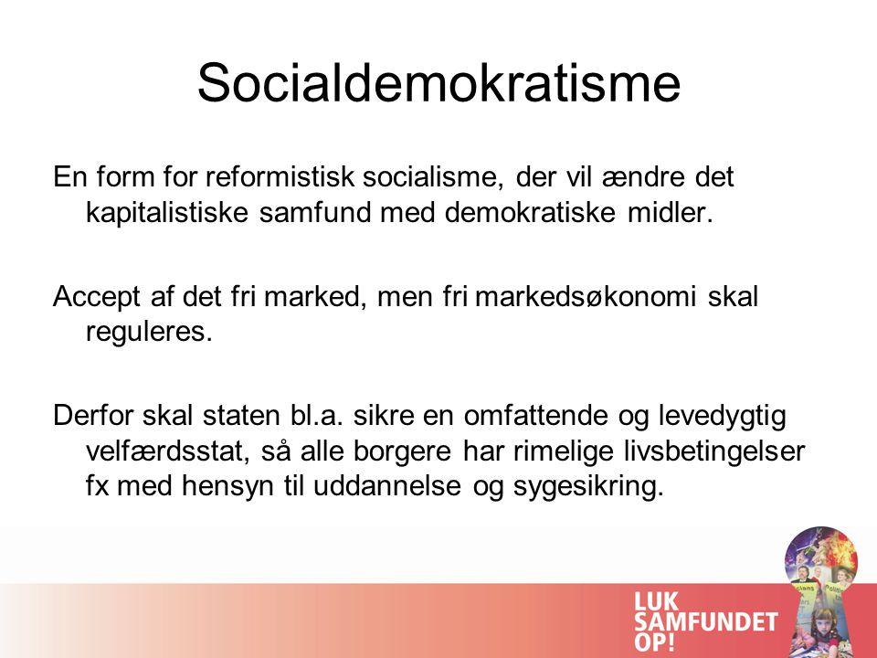 Socialdemokratisme