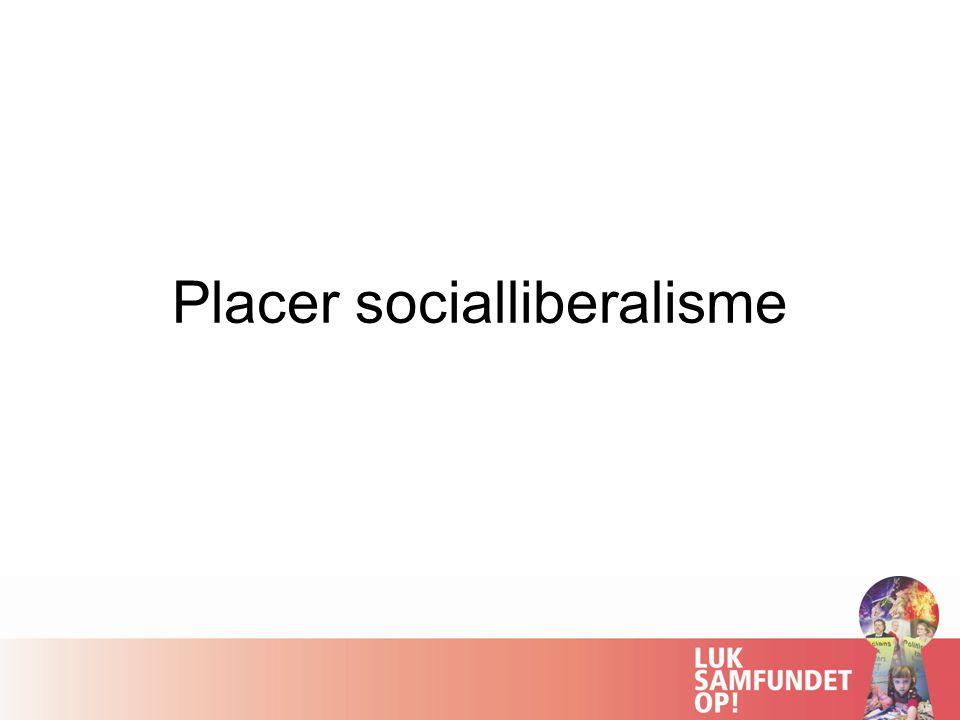 Placer socialliberalisme