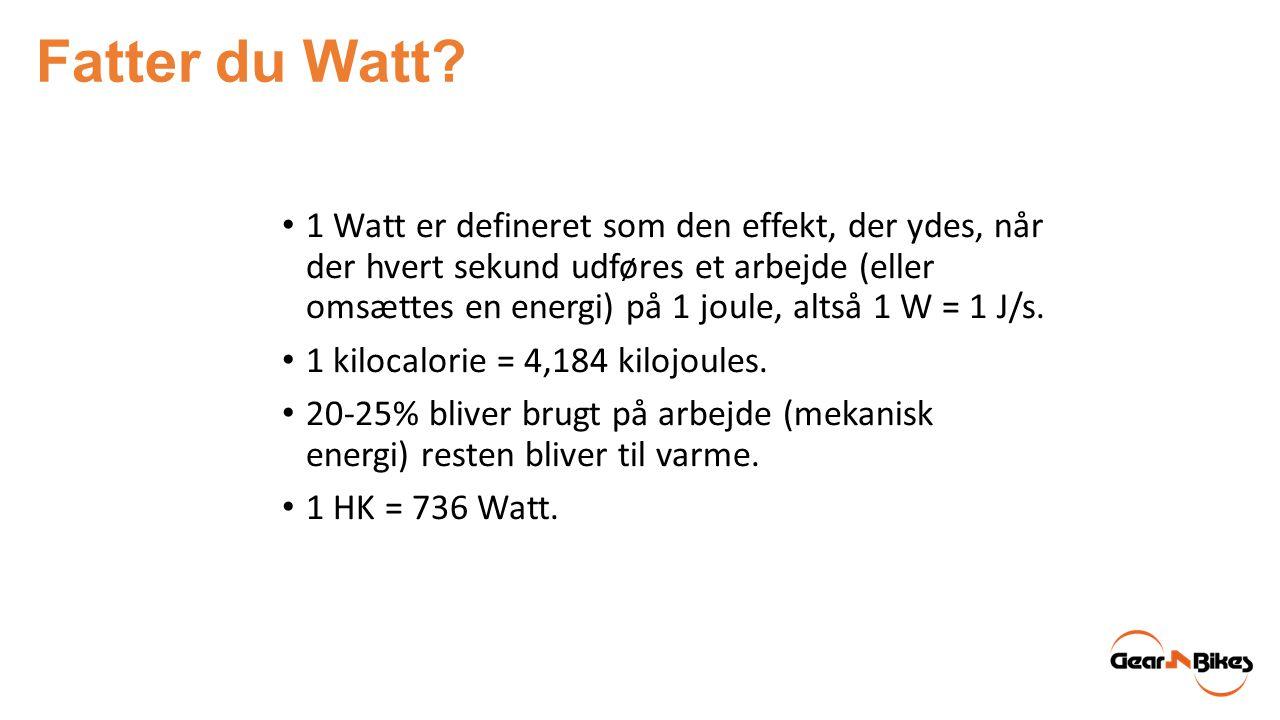 Fatter du Watt