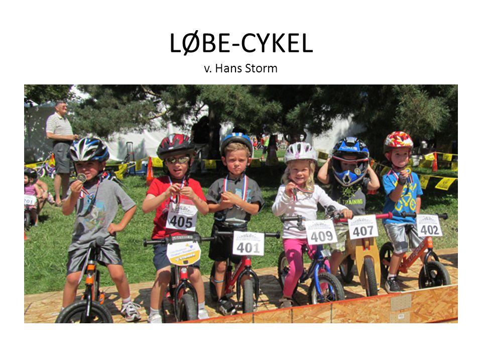 LØBE-CYKEL v. Hans Storm