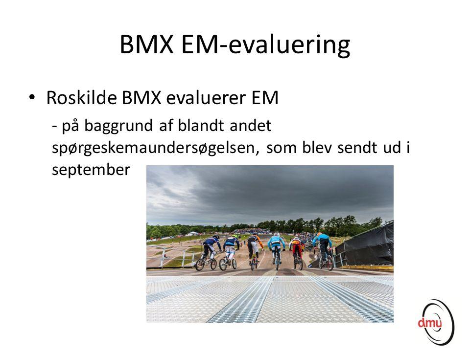 BMX EM-evaluering Roskilde BMX evaluerer EM