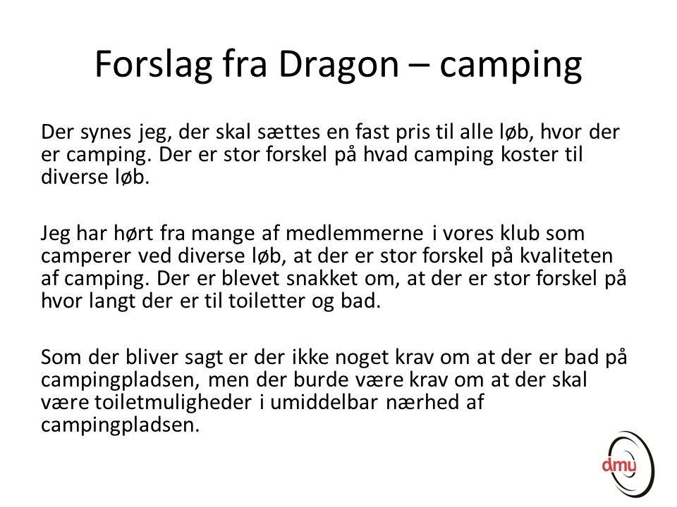 Forslag fra Dragon – camping
