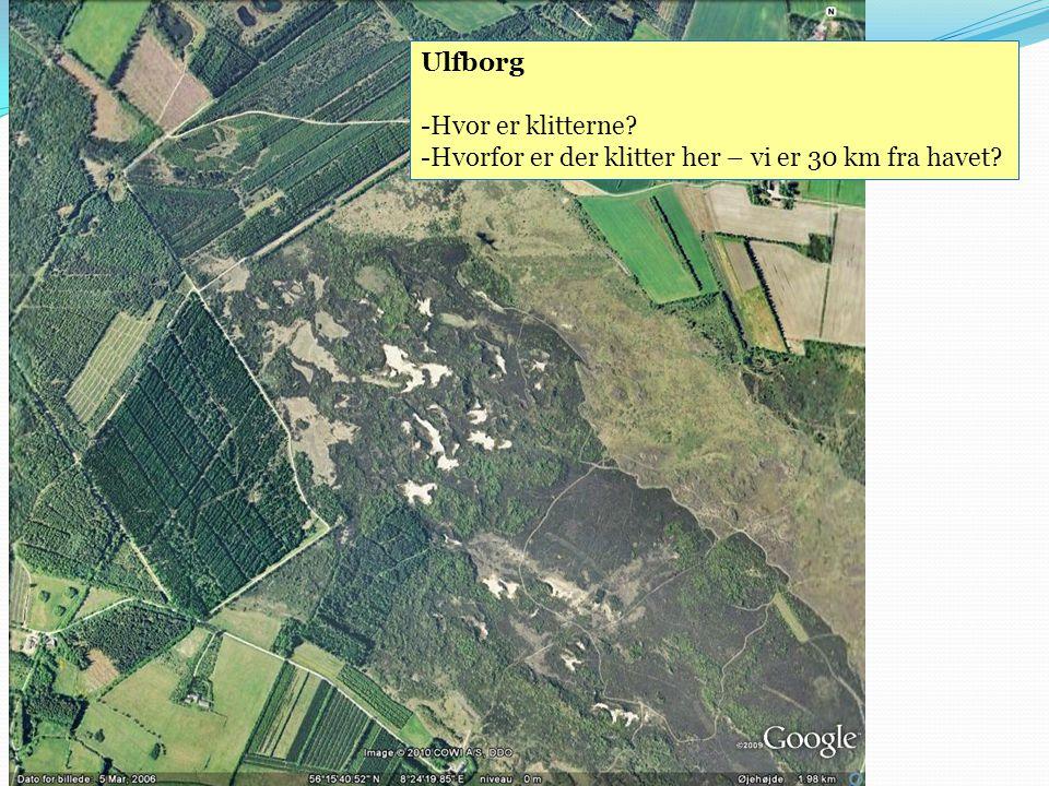 Ulfborg Hvor er klitterne Hvorfor er der klitter her – vi er 30 km fra havet