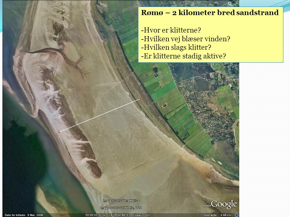 Rømø – 2 kilometer bred sandstrand